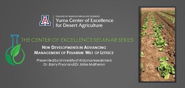 Center of Excellence Seminar Series on 2016 Fusarium research